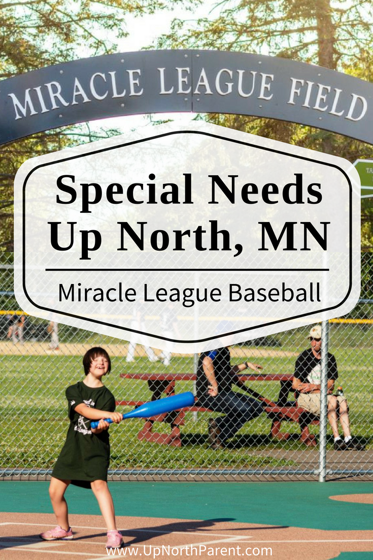 Special Needs Up North - Miracle League Baseball in Brainerd, Minnesota