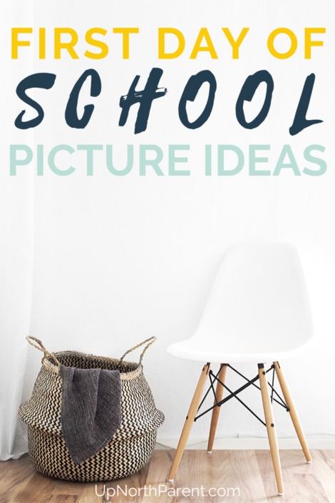 First Day of School Picture Ideas _ Back to School Photo Ideas