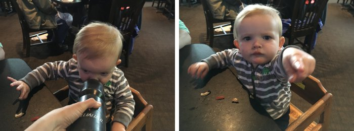 Mom hacks for taking a baby to a restaurant - Tips for taking a baby out to eat
