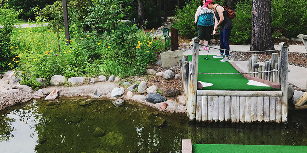 Our Kind of Golf | Wildwedge Mini Golf in Pequot Lakes