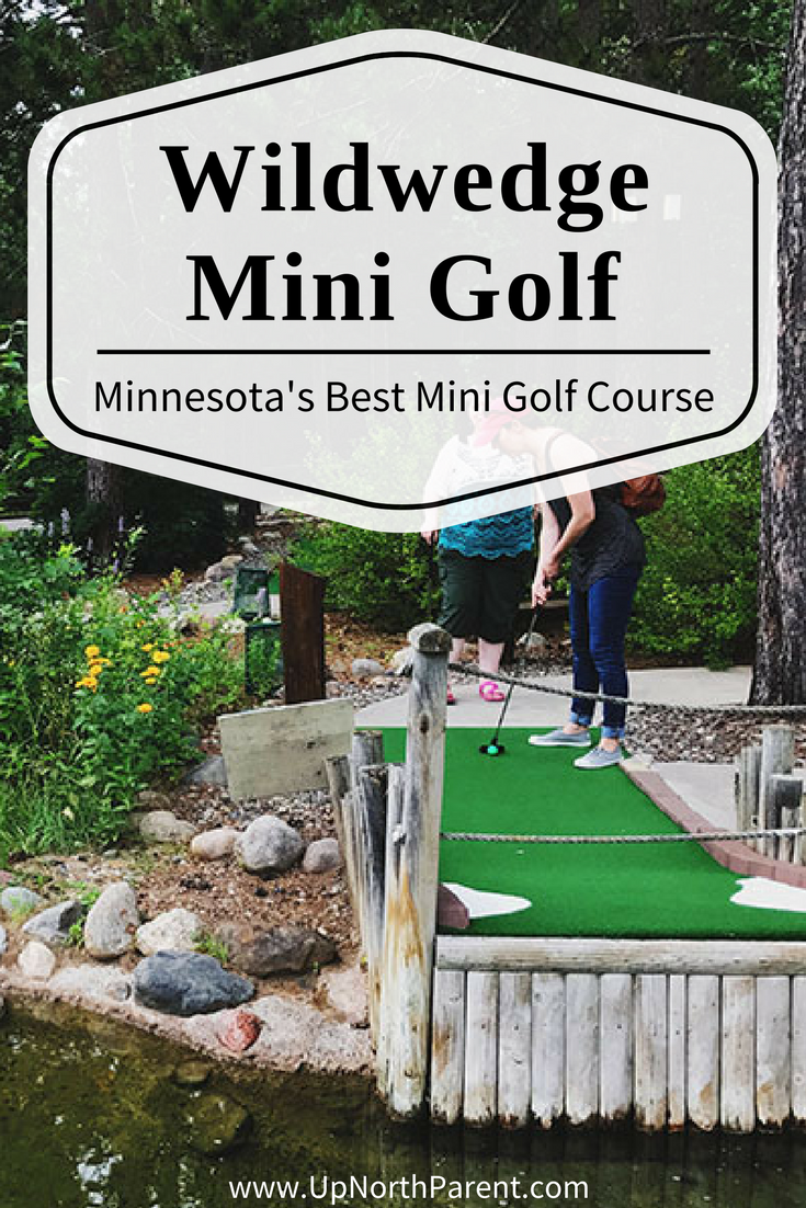 Wildwedge Golf Course and RV Park - Wildwedge Mini Golf in Pequot Lakes - Up North Parent - Amazing Mystery Maze
