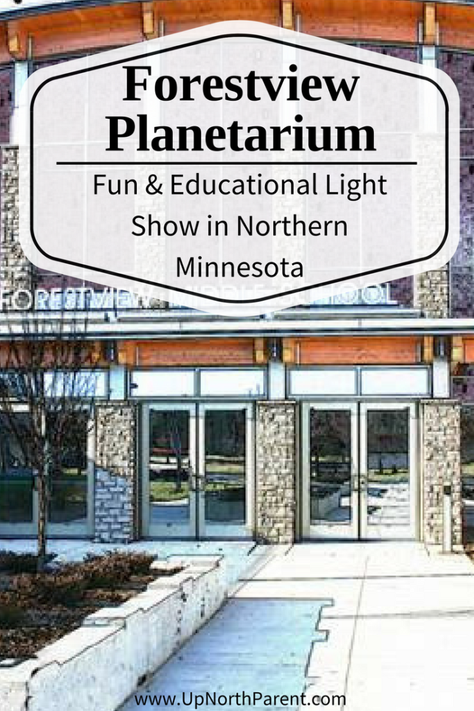 Forestview Planetarium - Baxter MN - Educational Light Show Northern Minnesota