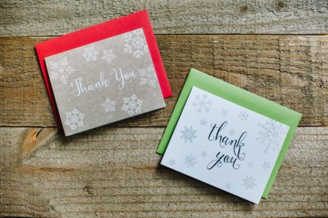 The Art of the Thank You Note   Thank You Card Ideas, The Invite Lady Thank You Cards