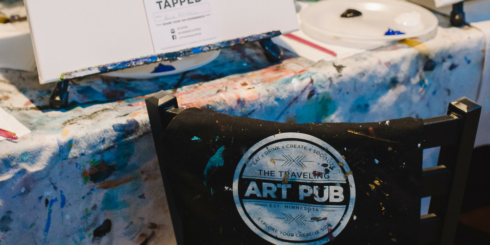 Have Paint, Will Travel | The Traveling Art Pub of Brainerd