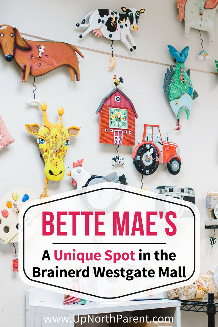 Bette Mae's - A Unique Spot in the Brainerd Westgate Mall in Brainerd, Minnesota | Bette Mae's Westgate Mall