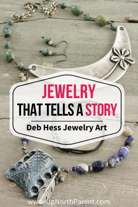 Deb Hess Jewelry Art Minnesota | Custom Jewelry to Help Women Share Their Story