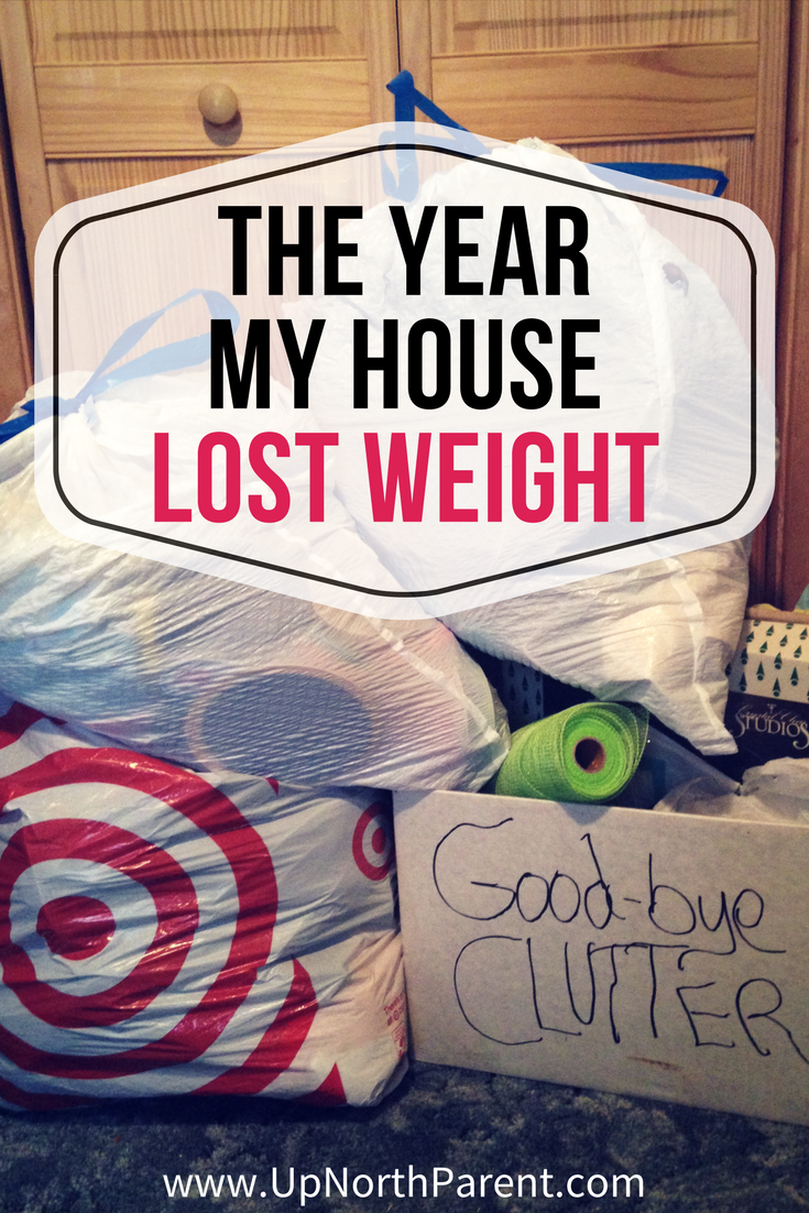 The Year My House Lost Weight _ The Process of Decluttering My House