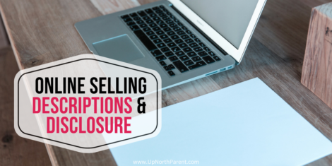 Tips for Online Selling Descriptions and Disclosure _ Clutter to Cash