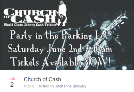 Church of Cash at Jack Pine Brewery