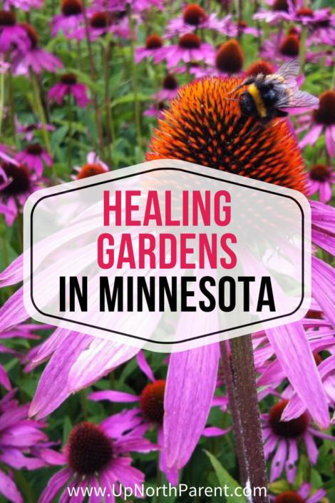 Healing Gardens in Minnesota   Up North Parent Healing Gardens Tour