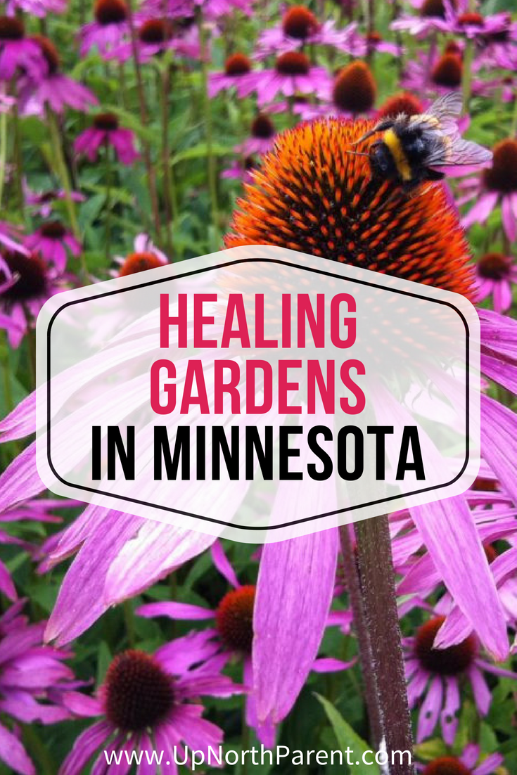 Healing Gardens in Minnesota | Up North Parent Healing Gardens Tour