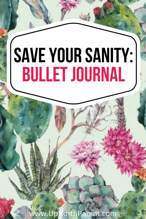 Bullet Journaling is a Sanity Saver! Here's Why... #Bujo