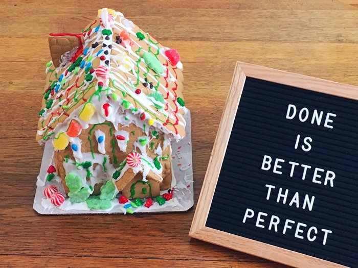 Gingerbread Houses | Ideas of Holiday Traditions Your Family Will Love
