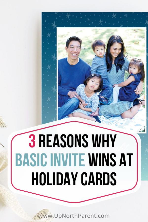 3 Reasons Basic Invite Wins at Holiday Cards