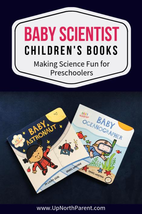 Baby Scientist Children's Books | Baby Astronaut, Baby Oceanographer by Laura Gehl
