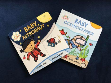Baby Scientist Children's Books   Baby Astronaut, Baby Oceanographer by Laura Gehl