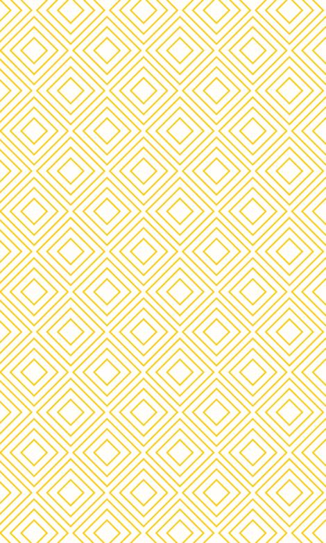 Yellow GEOMETRIC Wallpaper Photo