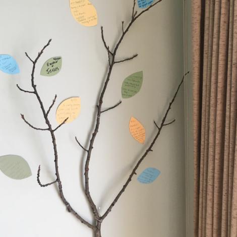 Easy Gratitude Tree Idea for Kids _ How to Make a Thankful Tree
