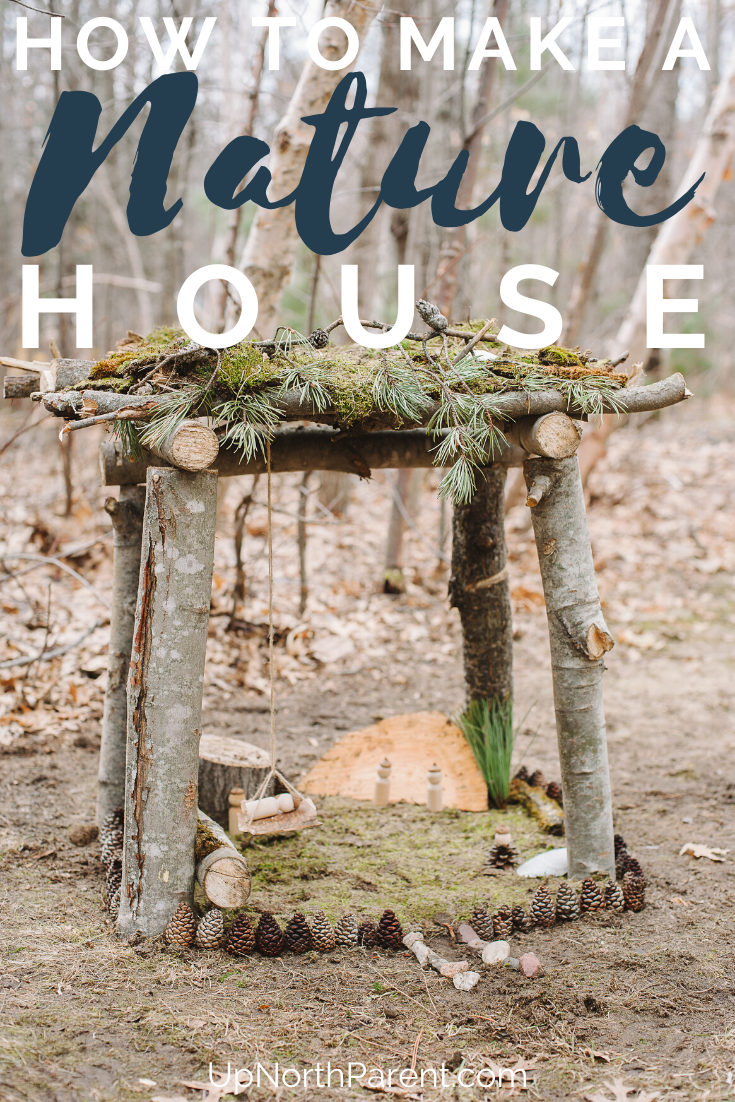How to Build a Nature House _ DIY Giant Fairy House