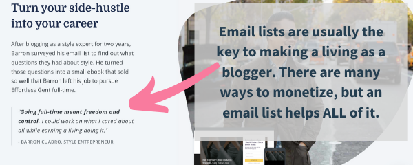 how to build a massive email list with convertkit