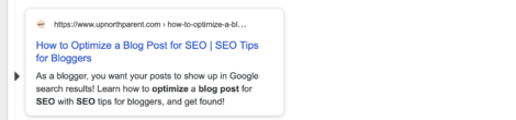 picking a meta description for your blog post